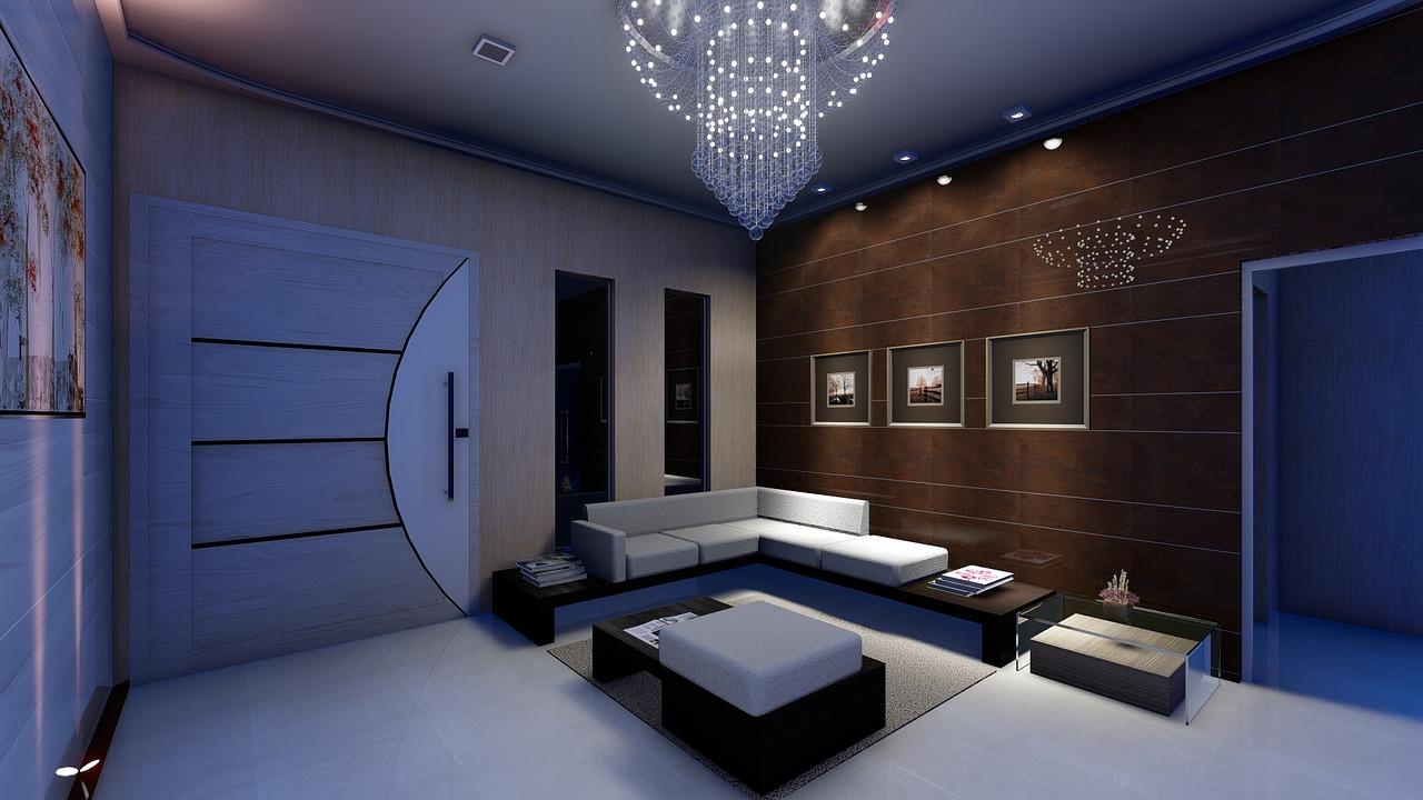Beleuchtung-Wohnzimmer